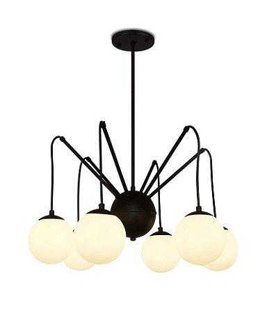 Luminária Pendente Sixball Ø50x60 Spotline 741/6