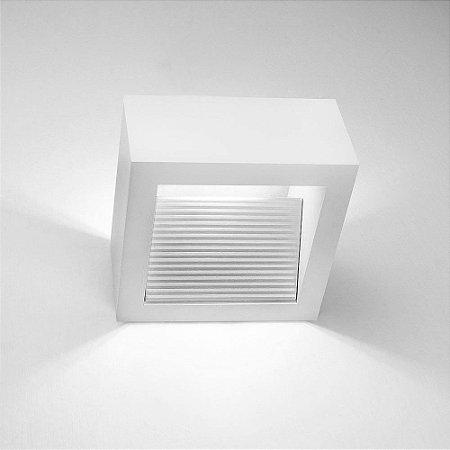Arandela Portara C/ Refletor 1 Pci Led 6w 2700k 127v Newline