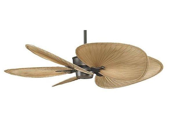 Ventilador Fibra Natural Islader Controle Remoto