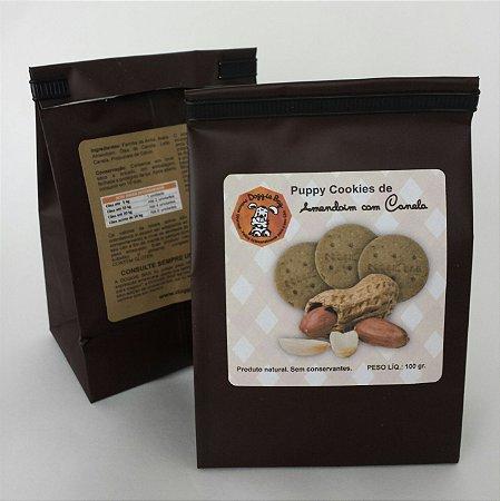 Petisco para Cachorro - Cookies de Amendoim com Canela