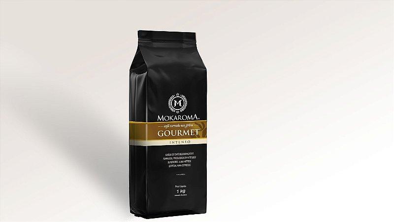 Café Torrado em Grãos Gourmet 1 kg - Mokaroma