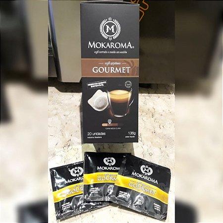 Café Expresso Mokaroma Gourmet - Box com 20 Sachês