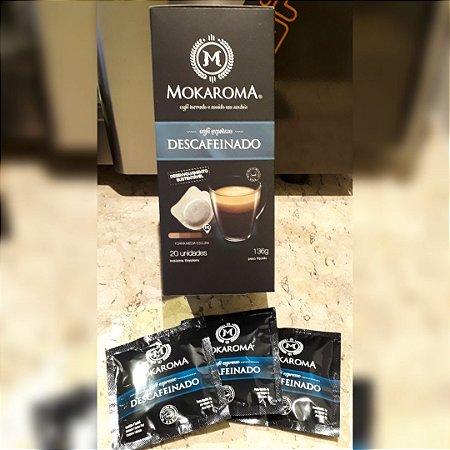 Café Expresso Mokaroma Descafeinado - Box com 20 sachês