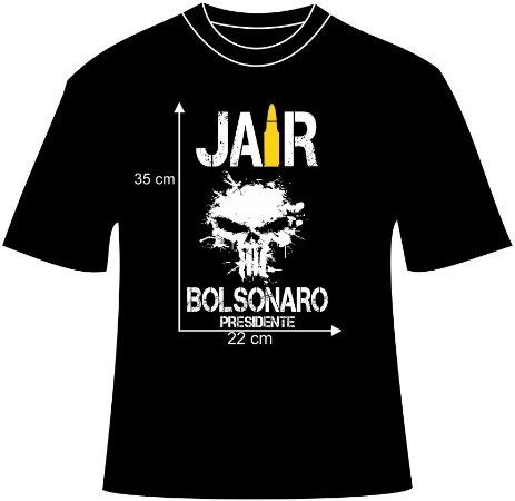 Baby Look Jair Bolsonaro