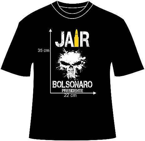 Camiseta Jair Bolsonaro - Personalize Curitiba 7e4806405d7