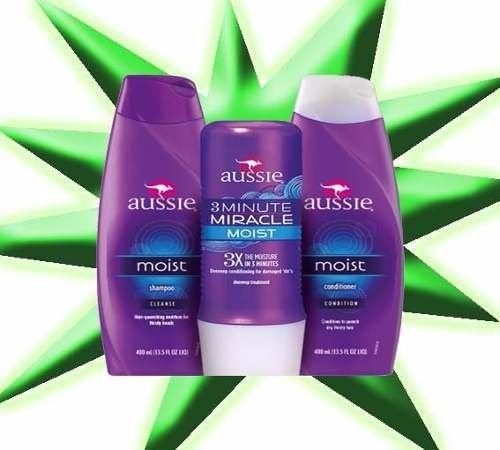 Kit Aussie Moist Shampoo Condicionador + 3 Minute Miracle