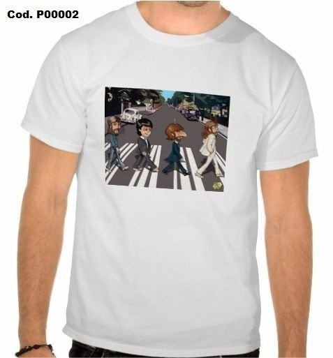 Camisetas Beatles