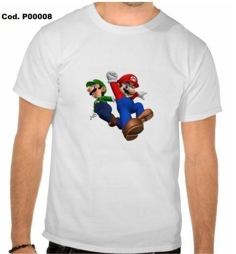 Camiseta Irmãos Mário