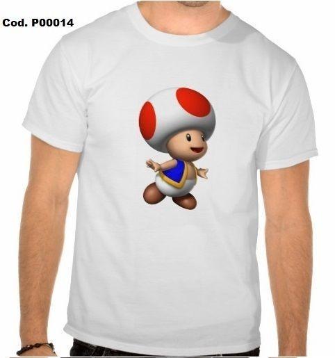 Camiseta Toad