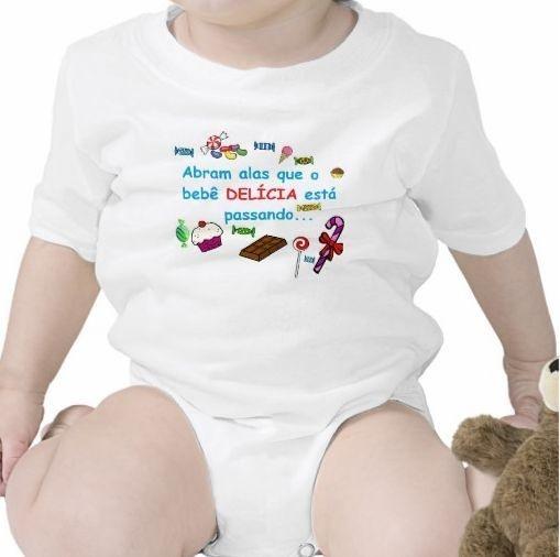 Body Bebê Delícia