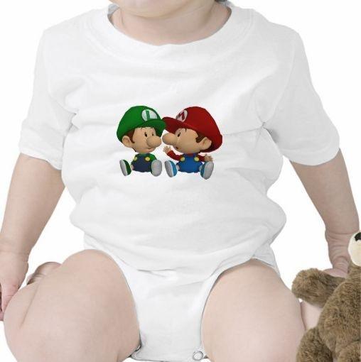 Body Mário Baby  & Luigi Baby