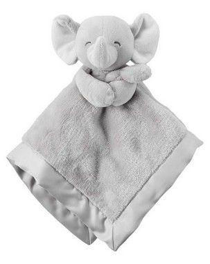 Naninha de pelucia elefante  Carter's (pronta entrega)