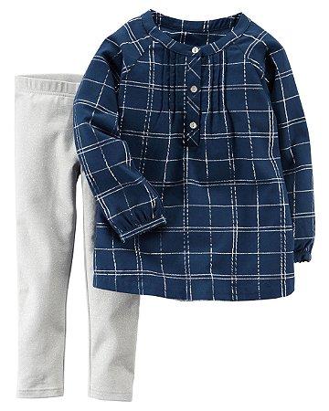 Blusa + Calça  Carter's (pronta entrega)