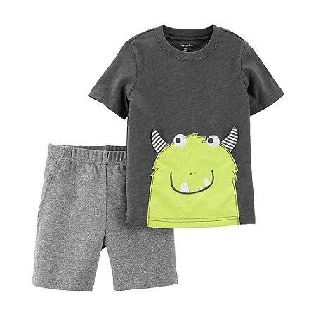 Conjunto Camiseta e Shorts  Carter's (pronta entrega)