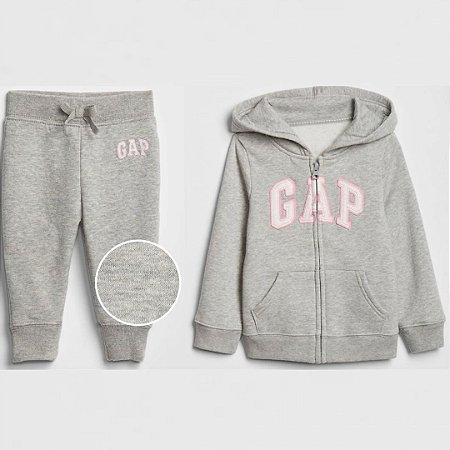Conjunto Moletom GAP - Blusa de ziper  Carter's (pronta entrega)