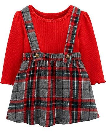 Vestido + Body Carter's - Coleção de Natal