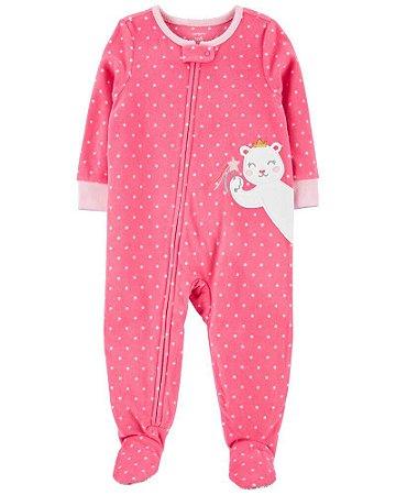 Macacão Pijama Plush Carter's (pronta entrega)