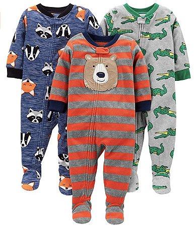Macacão Pijama Plush Carter's