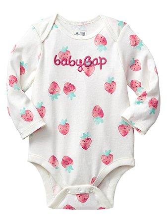 215cbf055 Roupas de Bebe GAP Body Baby GAP Moranguinho - Dany Store - Roupas ...