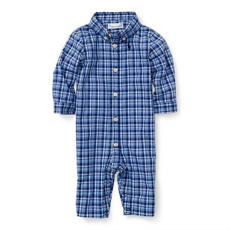 Roupas de Bebe Menino Polo Ralph Lauren Macacão Camisa Polo RL ... d5a2e3d123b