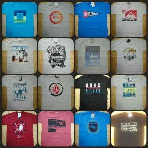 50 Camisetas volcon element oakley rip curl  lançamentos 2021