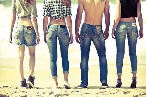 Calca jeans multimarcas feminina