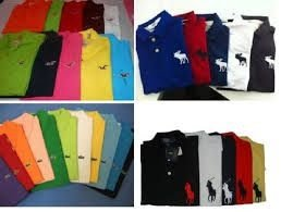 Camisa polo multimarcas original kit 10 pçs lacoste tommy ralph lauren reserva