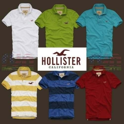 Camisa Polo original hollister ralph lauren lacoste  kit 10 pçs