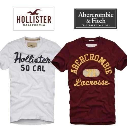 Camisetas Hollister e Abercrombie original