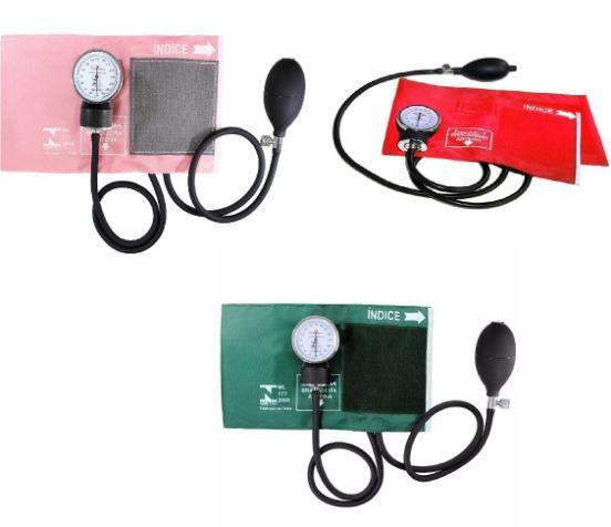 Aparelho Medidor de Pressão Esfigmomanômetro Premium Colorido