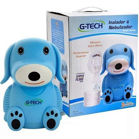 Inalador Nebulizador Nebdog G-Tech Azul
