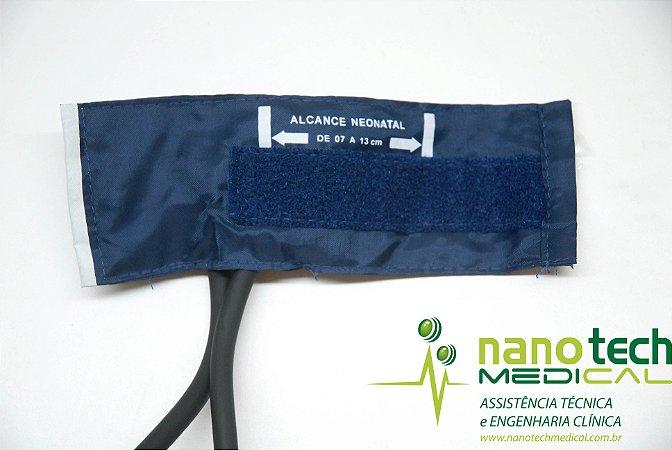 Braçadeira em Nylon com Fecho Velcro para Esfigmomanômetro Premium