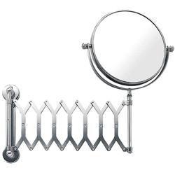 Espelho Dupla Face de Parede com Sanfona 17,8x63,5 cm Brinox