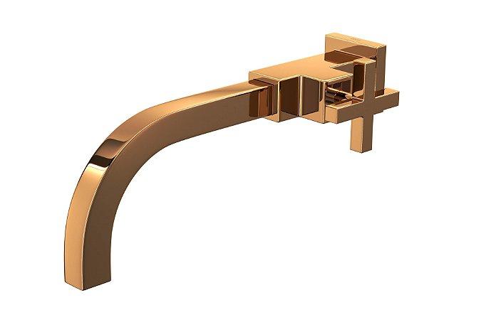 Torneira Lavatório Parede Dn15 Duna Quadratta Gl Rd 1178 Gl94 Rd Deca