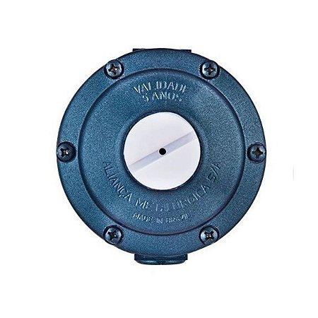 Regulador para Gás Aliança 506/03 Az Estagio Unico 7Kg