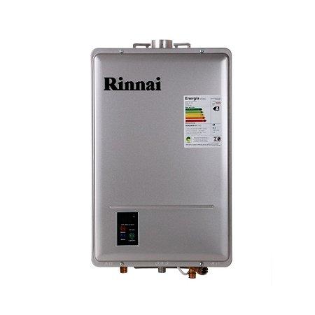Aquecedor a Gás GLP Rinnai REU 1602 FEHG 22,5 Litros Bivolt