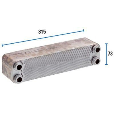 Trocador De Calor 24PL - SPE 315 Sfera