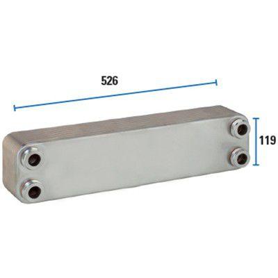 Trocador De Calor 40PL - SPES 524-1  Sfera