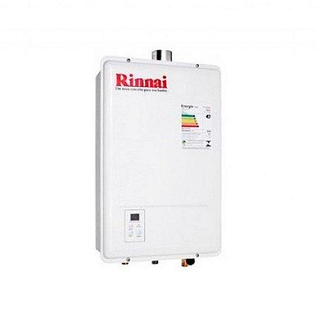 Aquecedor a Gás REU 1301 FEH 18 Litros GLP Bivolt Rinnai