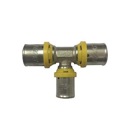Te Redução Central  26 X 16 X 26 mm para Tubo Pex Tudogás