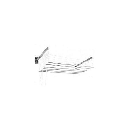 Varal Prático Parede ou Teto em Alumínio 1,20 Metros Secalux