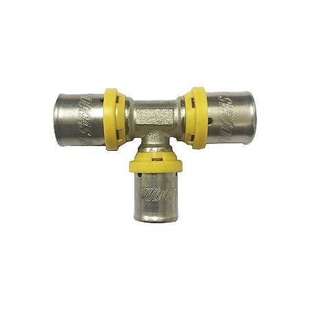 Te Redução Central 20 x 16 x 20 mm para Tubo Pex Tudogás