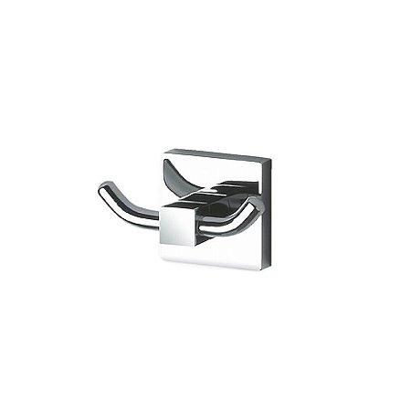 Cabide duplo Quadra  Perflex