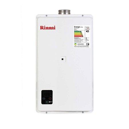 Aquecedor a Gás Rinnai E33 FEHB 32,5 Litros GN