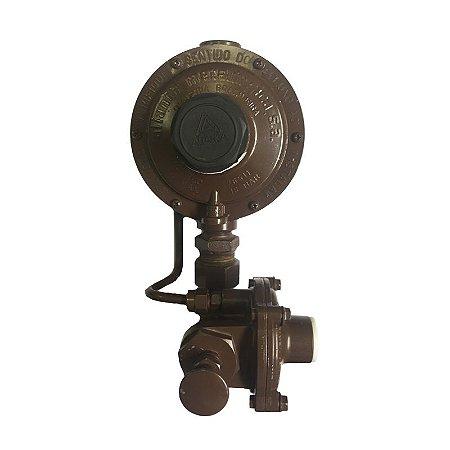 Regulador de Gás GN 76511/13 MR DSA marrom Aliança 8 m3/h