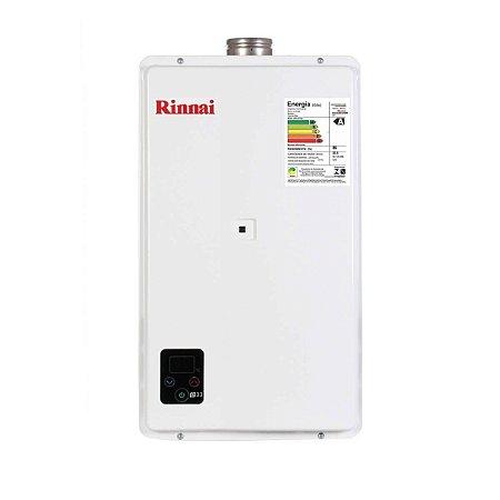 Aquecedor a Gás Rinnai E33 FEHB 32,5 Litros GLP