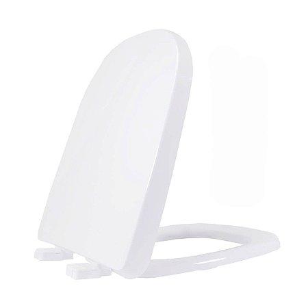 Assento Sanitário Termofixa Etna Branca Soft Close Tupan