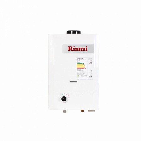 Aquecedor a Gás GN Rinnai REU M070 BP CFH 7 Litros