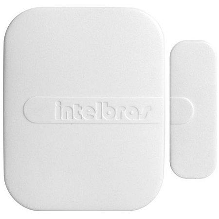 Sensor Magnético de Abertura de Porta e Janela Sem Fio Intelbras XAS 4010 Smart