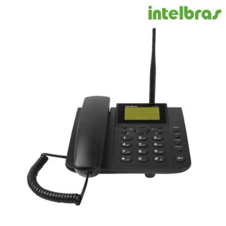 Telefone Rural celular fixo de longo alcance GSM Quadriband CF 4000 - Intelbras